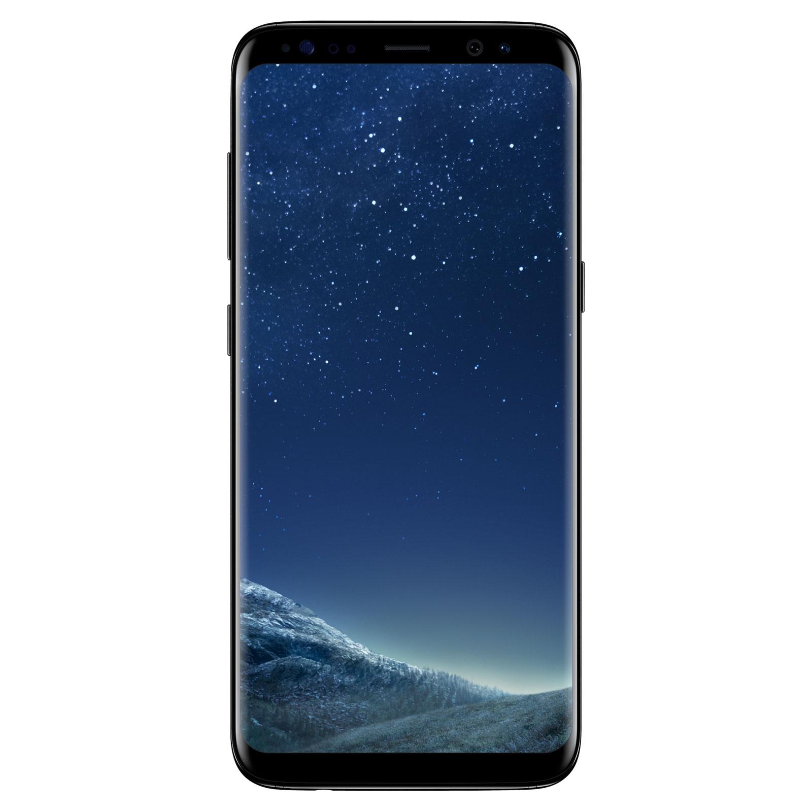 """Smartphone 5.8"""" Samsung Galaxy S8 64 Go Noir Carbone (via ODR 100€)"""