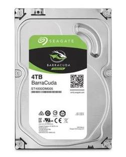"Disque dur interne 3.5"" Seagate BarraCuda Computer - 4 To"
