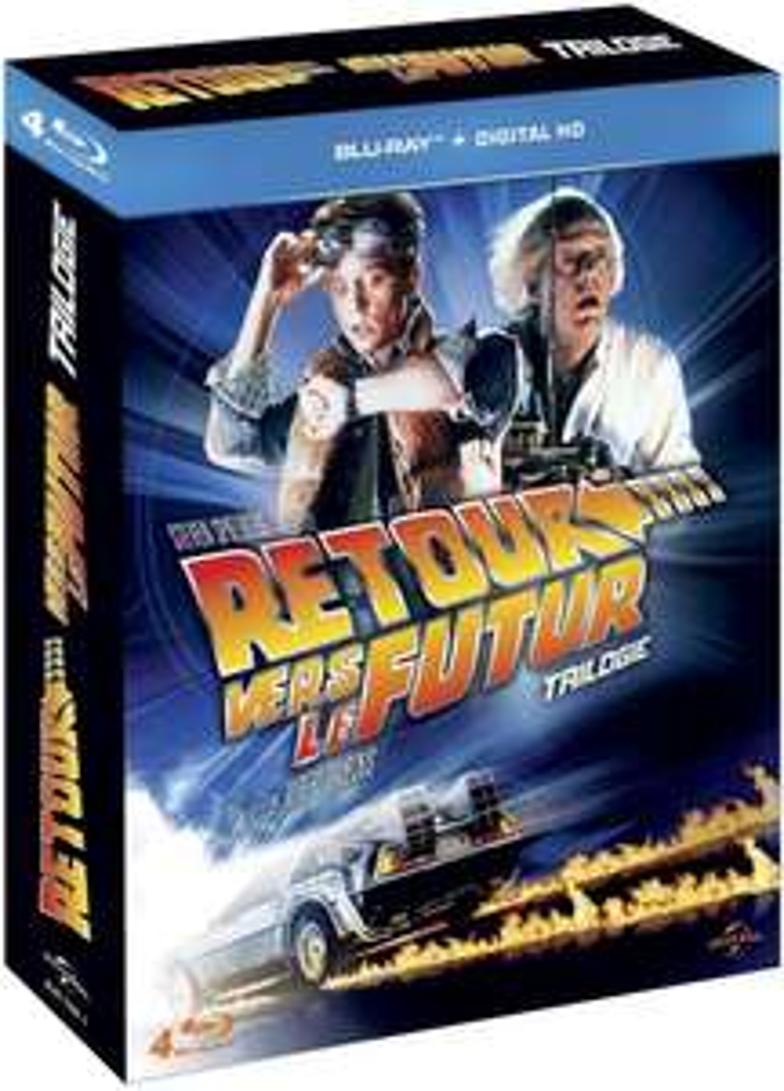 -50% sur une sélection de coffrets Blu-ray / DVD - Ex : Coffret Trilogie Retour vers le futur - Blu Ray + Digital HD
