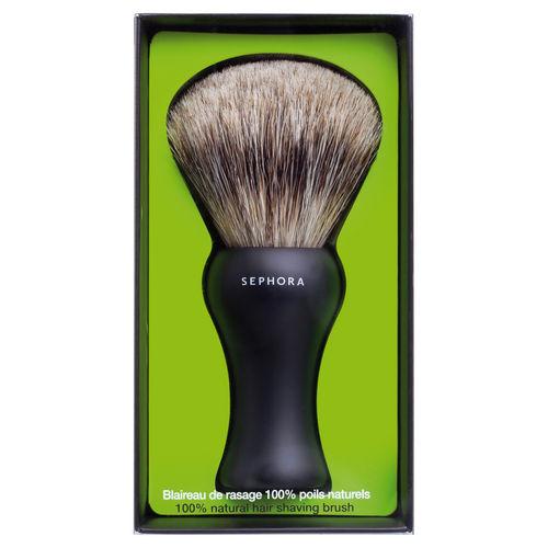 Sélection d'articles en promotion - Ex : blaireau de rasage Sephora Collection - poils naturels