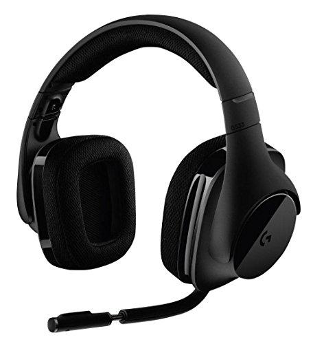 Casque audio sans-fil Logitech G533 - Surround DTS 7.1