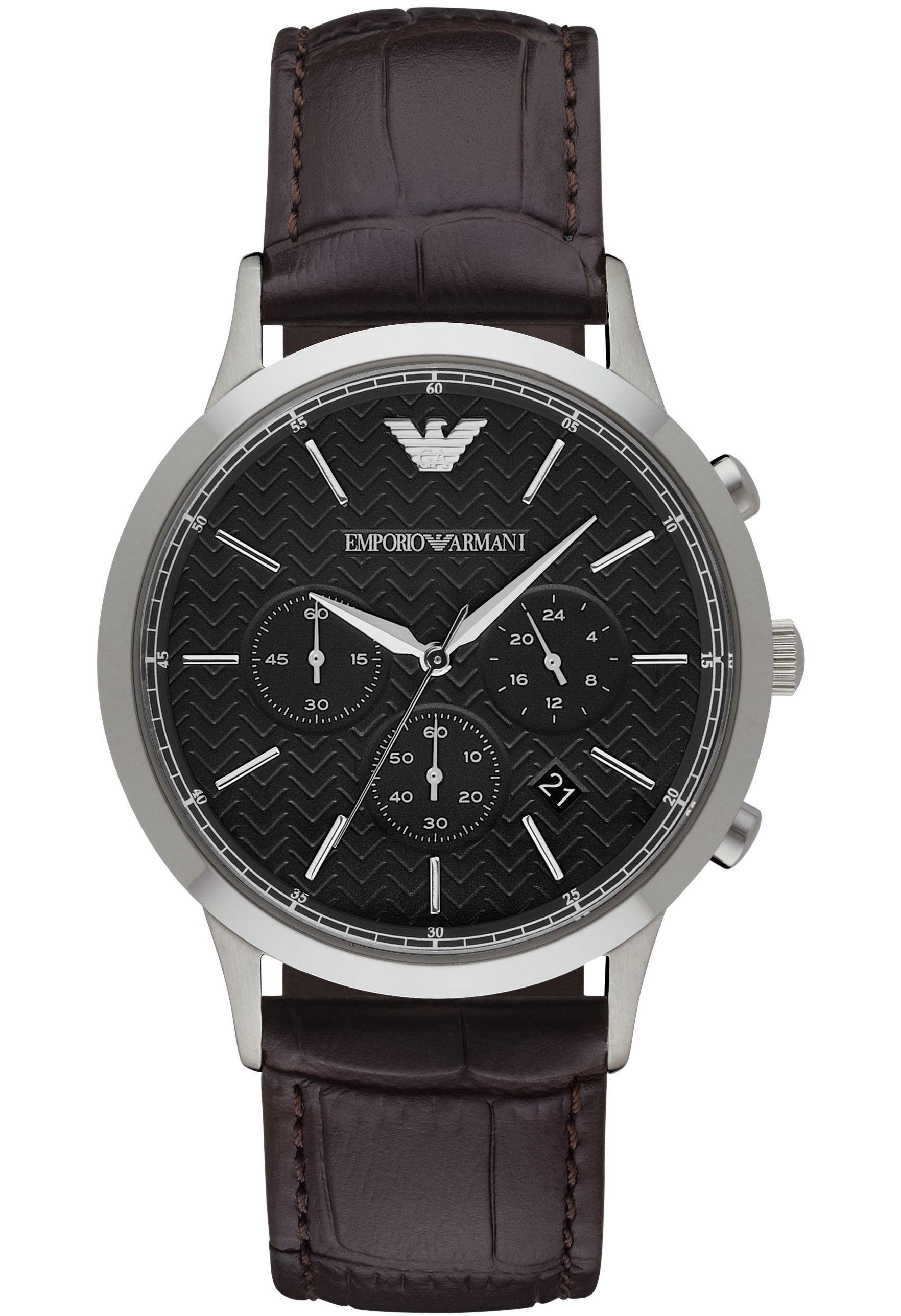 Sélection de montres en promotion - Ex : Montre homme Emporio Armani AR2482