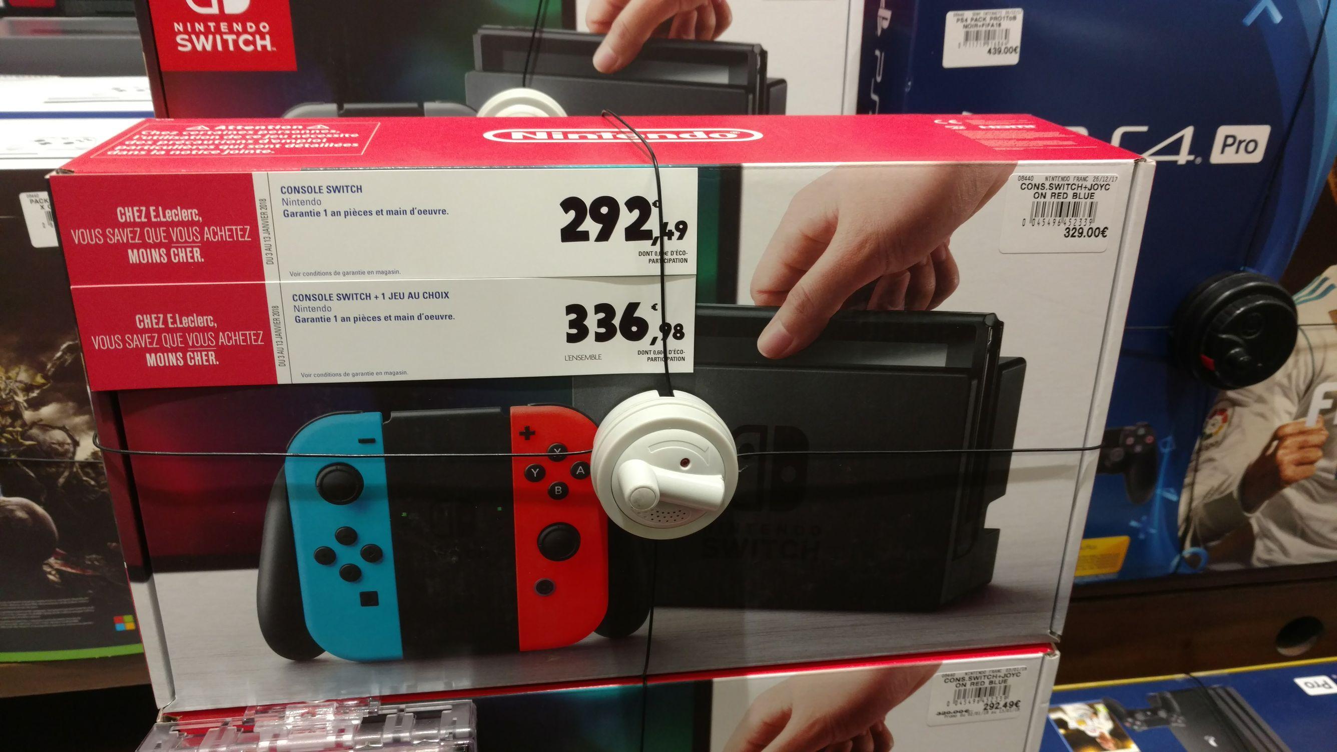 Console Nintendo switch  - E.leclerc Pontivy (56)