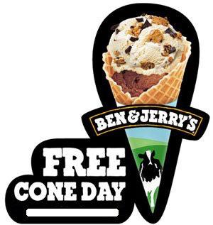 Free Cône Day (Journée de la glace gratuite)