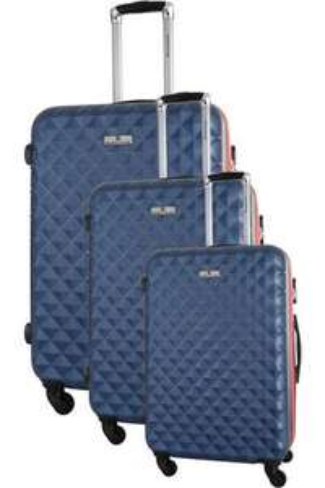 Ensemble de 3 valises Platinium - Petit, moyen et grand formats