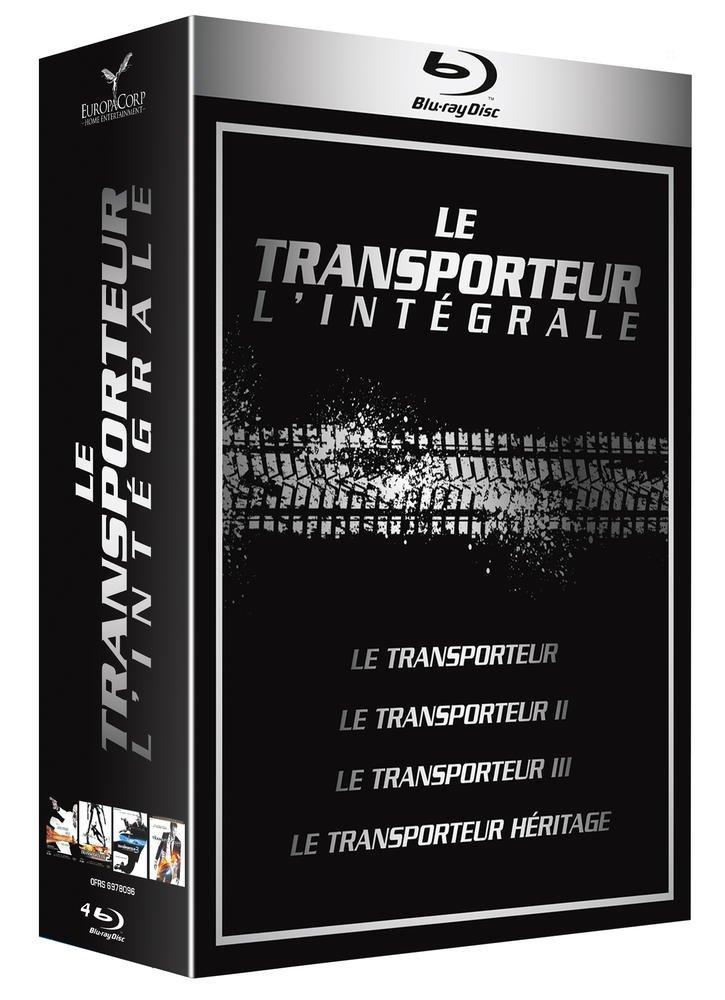 Blu-ray Le Transporteur - L'intégrale 1 à 4
