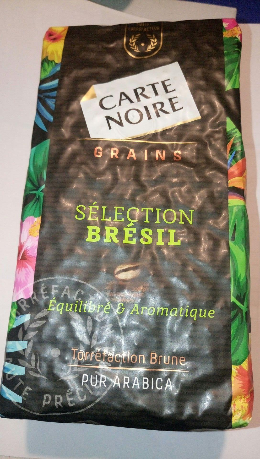 Café en grain pour machine automatique Carte Noire - Douarnenez (29)