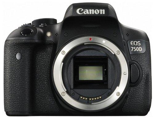 Réflex Canon EOS 750D Boitier nu