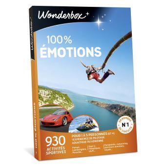 1 DVD Rush ou Point Break offert pour l'achat d'un coffret Wonderbox 100% émotions