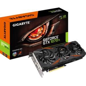 Carte graphique Gigabyte GeForce GTX 1070 Ti GAMING, 8 Go