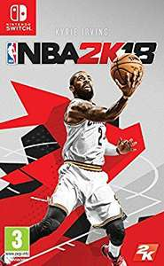 NBA 2K18 sur Nintendo Switch