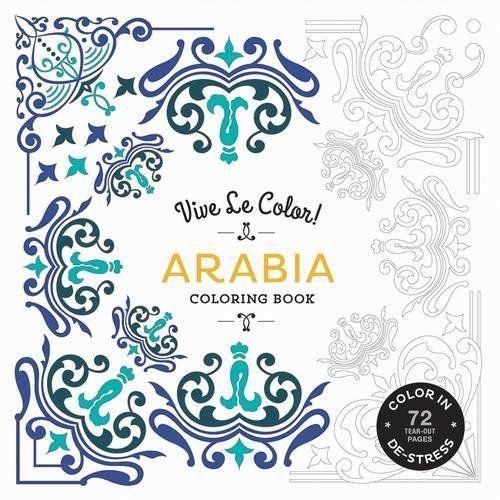 Livre de coloriage Vive Le Color! Arabia et Mandala NOZ Vandoeuvre (54)