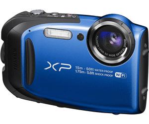 Appareil photo numérique compact Fujifilm FinePix XP80 - 16.4 Mpix, CMOS, full HD, bleu (Frontaliers Belgique)