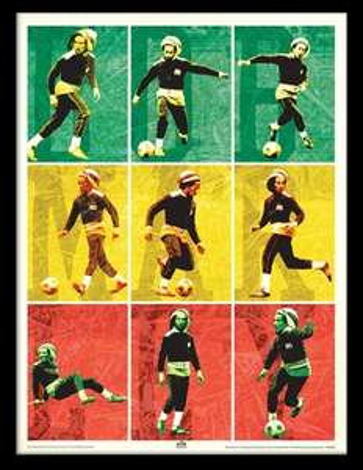 Cadre ArtPrint Bob Marley & Foot Euro 2016
