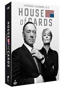 Sélection coffrets de séries télévisées - Ex : House of Cards saison 1 & 2 en DVD