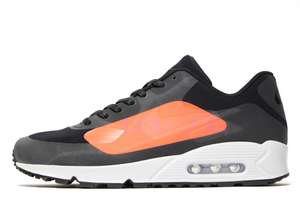 Baskets Nike Air Max 90 'Big Logo' coloris Infrared ou Blue Lazer (Tailles au choix)