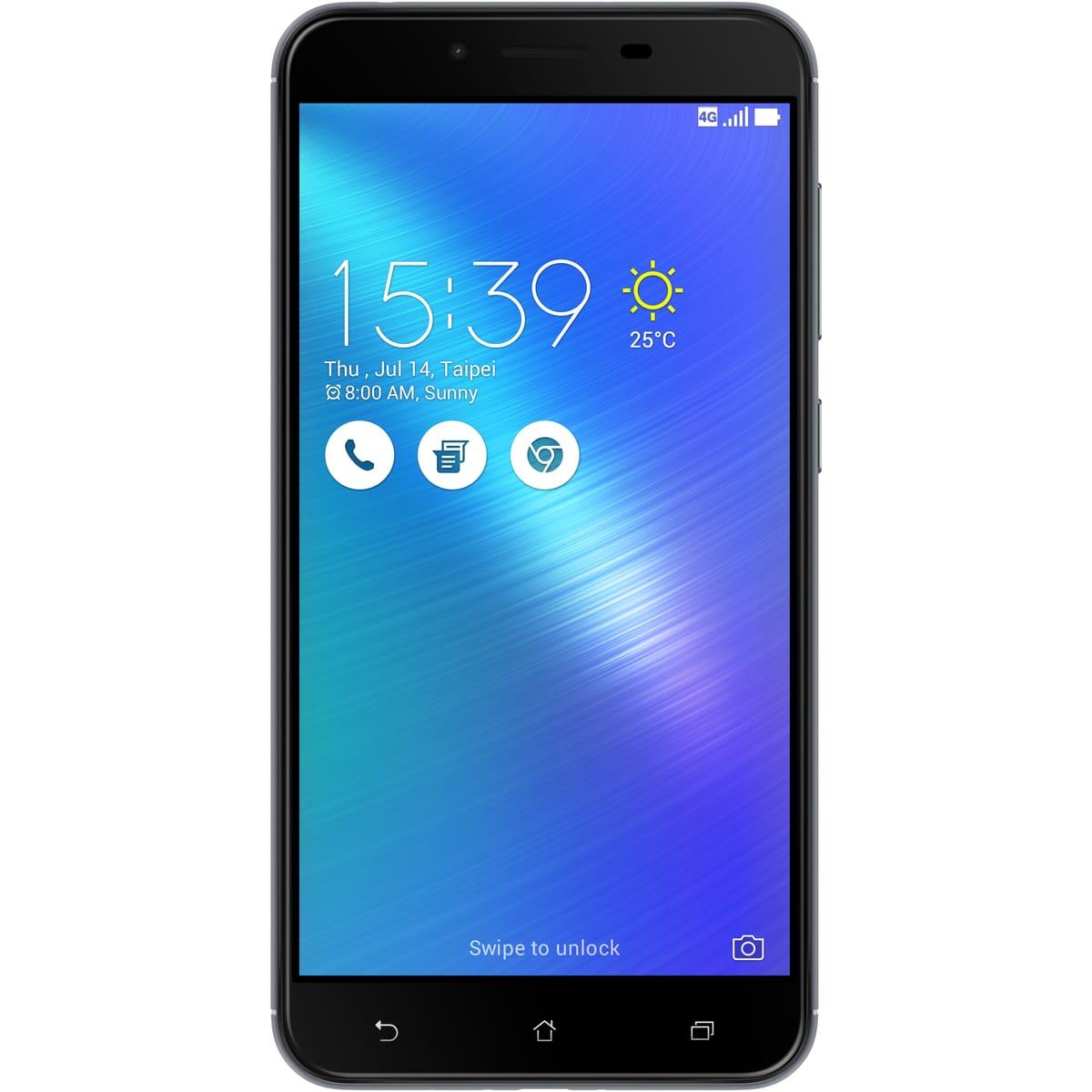 "Smartphone 5.5"" Asus Zenfone 3 Max Plus - RAM 3 Go, ROM 32 Go, Double Micro-SIM (via 124.5€ sur la cagnotte)"
