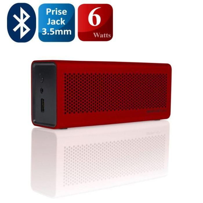 Enceinte bluetooth 3.0 sans fil Braven 600 - Rouge ou Noire