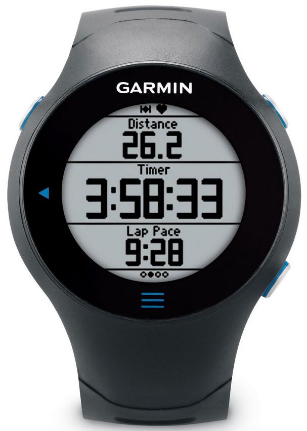 Montre running Garmin Forerunner 610 avec cardio-fréquencemètre avec GPS intégré - Noir