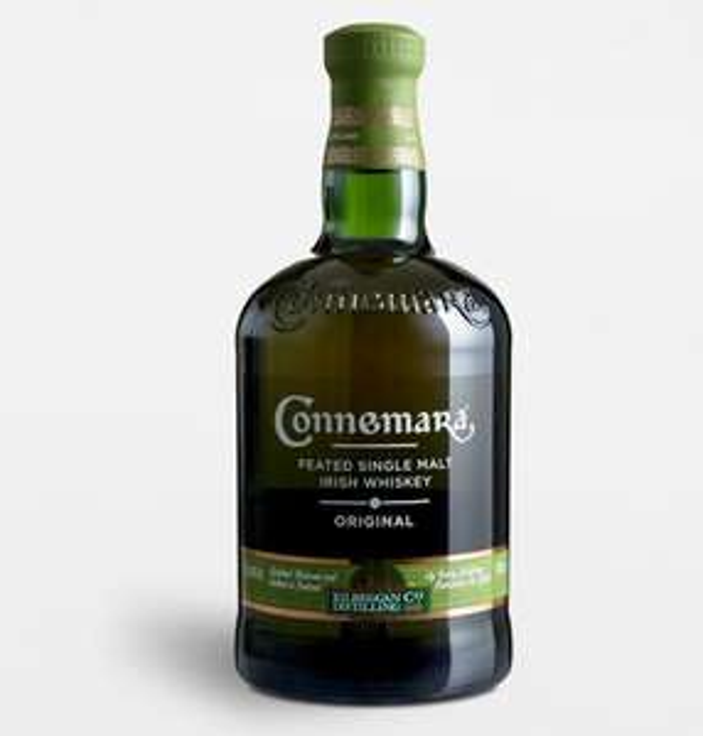 Sélection de Whisky en promotion - Ex : Bouteille Connemara Original - Peated Single Malte Irish Whiskey - 70 cl