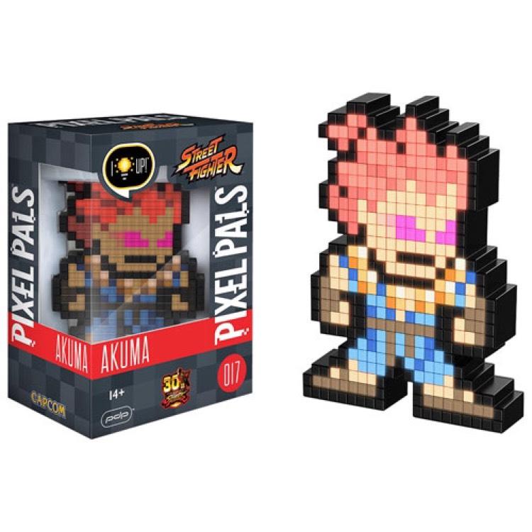 Lampe - Street Fighter - Akuma Pixel Pal
