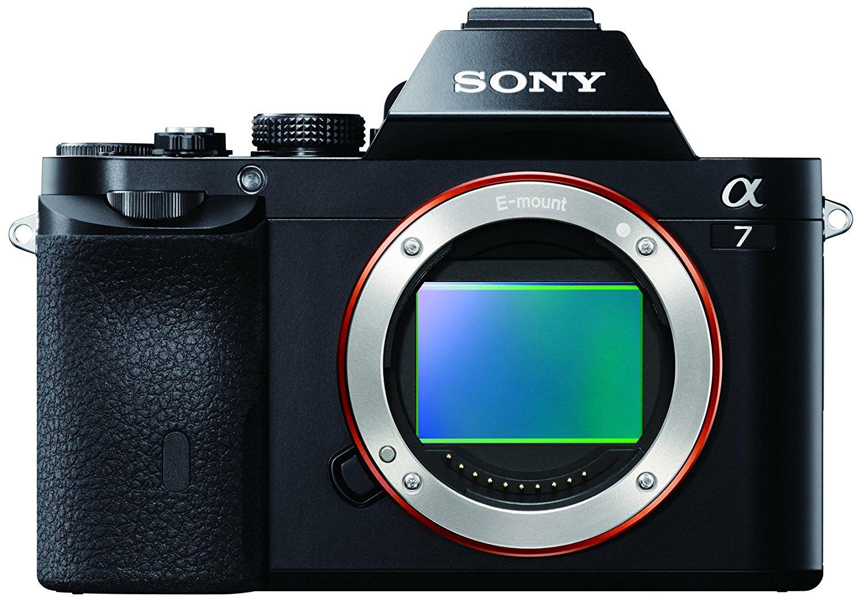 Appareil photo hybride Sony A7 - 24x36mm (via ODR de 100€)