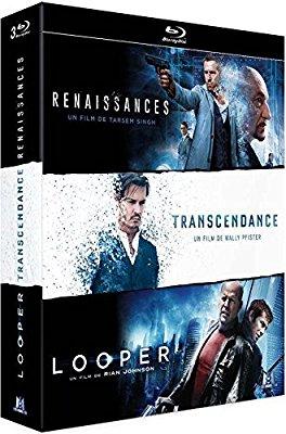Coffret blu-ray: Renaissances + Transcendance + Looper (3 films)