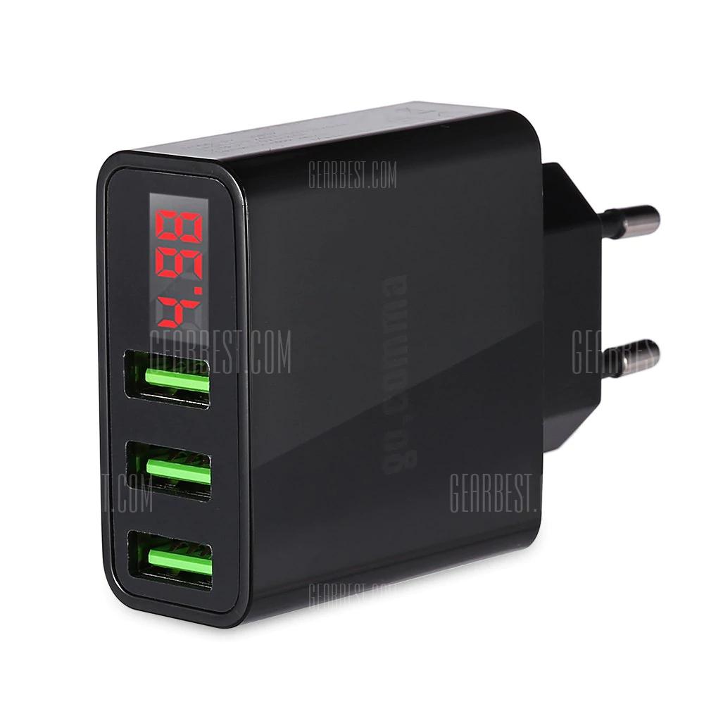 Chargeur 3 ports USB Gocomma - EU (3A max)