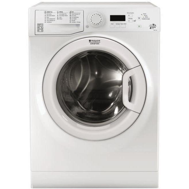 [Cdiscount à Volonté] Lave-linge à induction Hotpoint Ariston EFMF 1043 FR - 10 kg, 1400 trs/min, A+++