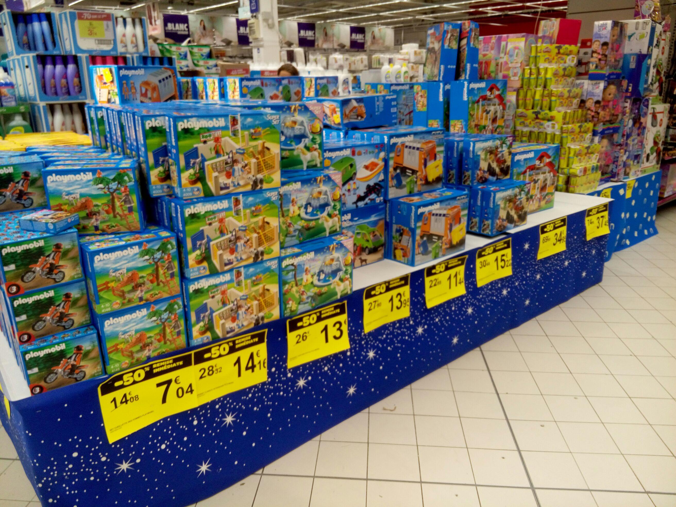 50% de réduction sur une sélection de Playmobil - Collégien (77)