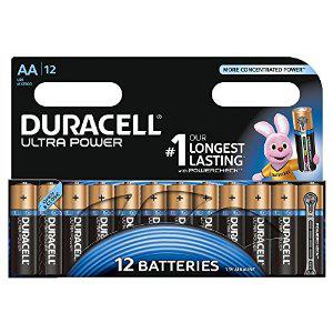 Lot de 2 x 12 piles LR6 (AA) Duracell Plus Power (BDR 0.80€)