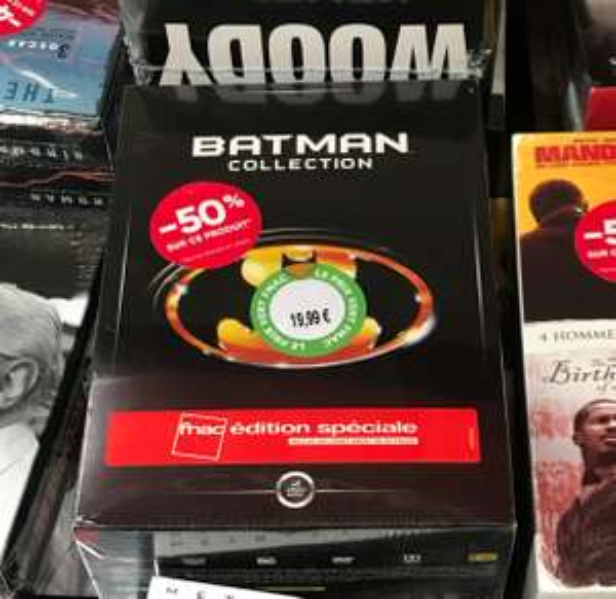 Coffret DVD Batman Collection Edition Spéciale - Grenoble (38)