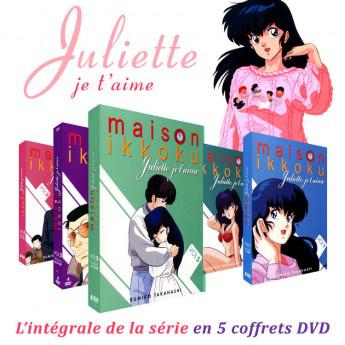 Coffret DVD l'Intégrale Maison Ikkoku (Juliette je t'aime) (Edition non censurée)