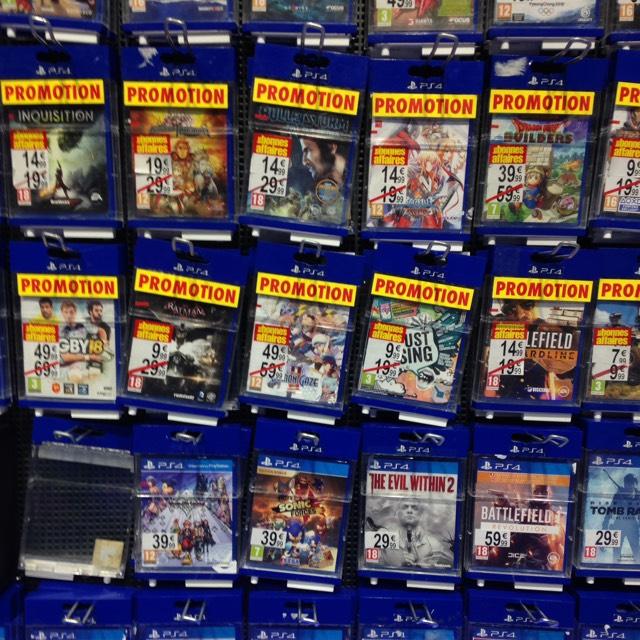 Sélection de jeux en promotion - Ex : Batman Arkam Knight sur PS4 - Illzach (68)