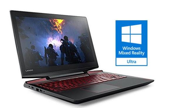 "Lenovo Legion Y720 - 15.6"" Gaming Laptop (Intel Core i7 / 8GB RAM / 256GB PCIe SSD / GeForce GTX 1060 6GB / Windows 10) - Clavier QWERTY (frais de port et douanes inclus)"
