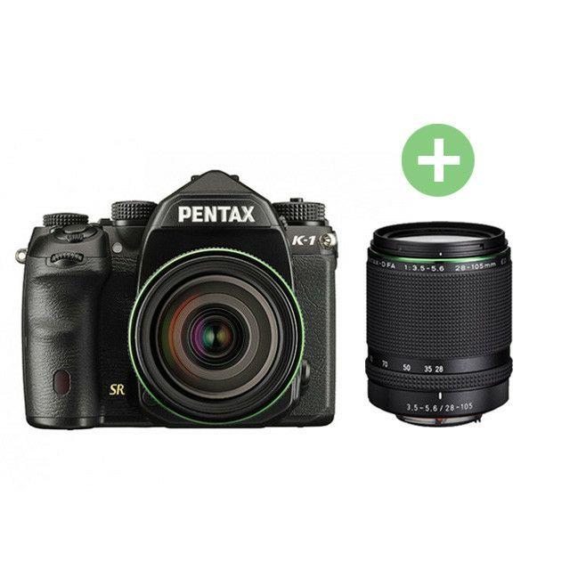 Appareil photo Reflex numérique Full Frame Pentax K1 + Objectif 28-105mm