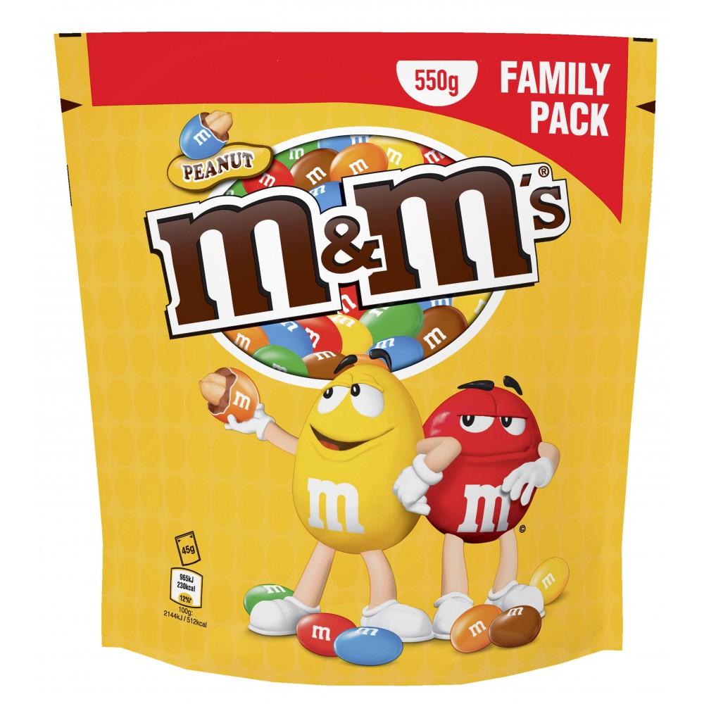 M&M'S Family Pack 550 g (Via 1,51 € sur la carte fidélité)