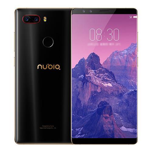 "Smartphone 5.73"" ZTE Nubia Z17S - Full HD+, Snapdragon 835, 6 Go RAM, 64 Go ROM, 4G (avec B20)"