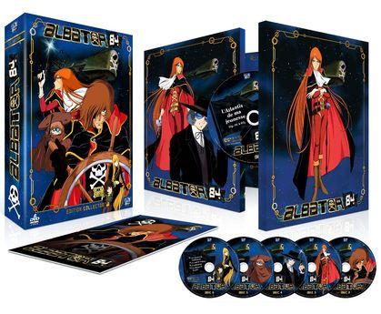 Coffret DVD Albator 84 Collector - Intégrale TV + Film + Livret