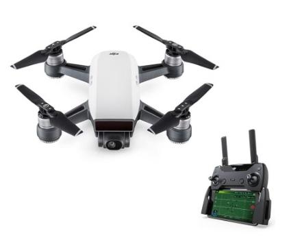 Mini-drone quadricoptère RTF DJI Spark + contrôleur