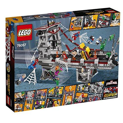 [Prime] Jouet Lego Marvel Super Heroes - Spider-Man : Le combat suprême sur le pont des Web Warriors (76057)
