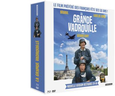 Coffret Blu-ray La Grande Vadrouille - Édition Prestige
