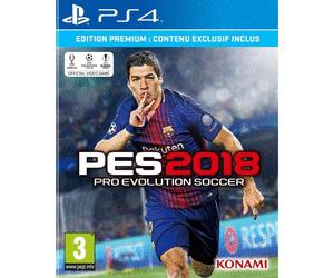 Pro Evolution Soccer (PES) 2018 - Édition Premium sur PS4 ou Xbox One chez Auchan