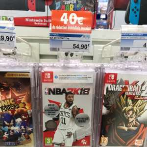 NBA 2K18  sur Nintendo Switch - Paridis (44)