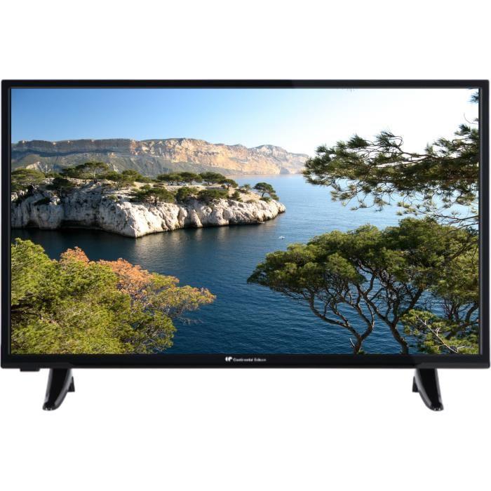 "TV 31.5"" Continental Edison - LED, HD"