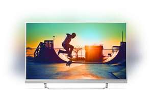 "TV 49"" Philips 49PUS6482 - LED, 4K UHD, Ambilight 3 côtés, Android TV (via ODR de 100€)"