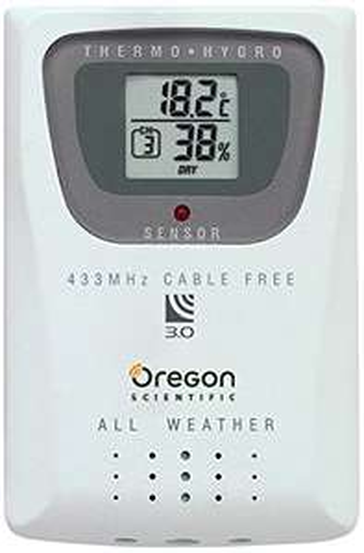 Détecteur de Température/Humidité Oregon Scientific THGR 810 (Vendeur Tiers)