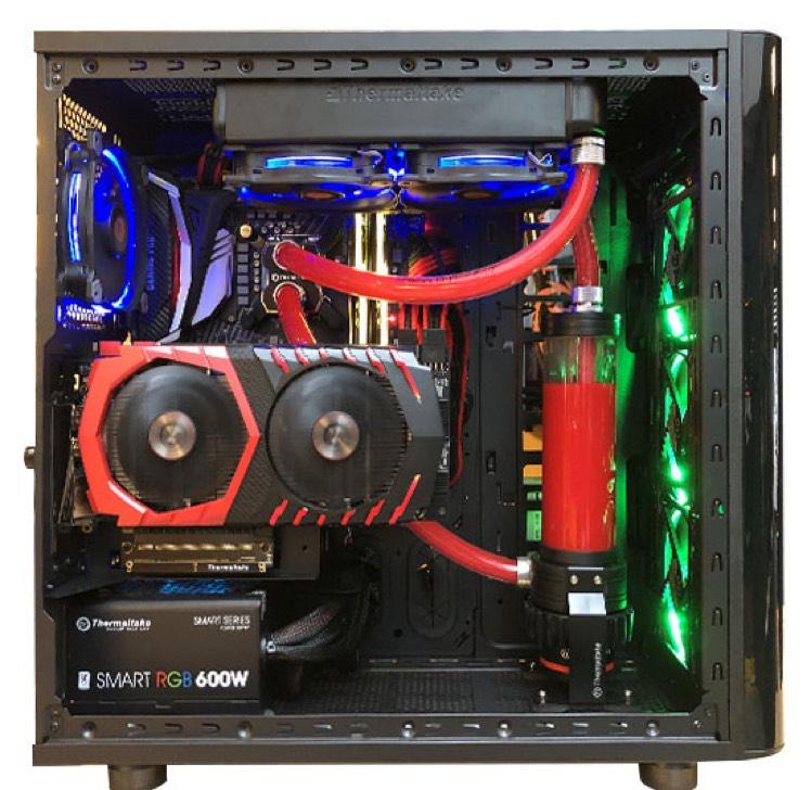Tour Gamer GrosBill - i7-8700K, GTX1070Ti, 3To de HDD, 275Go de SSD, 16Go de RAM