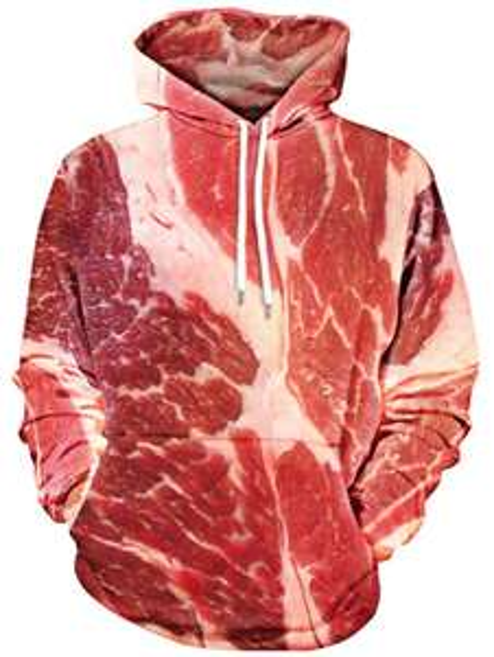 Sweat à Capuche Raw Meat pour Hommes - Tailles au choix
