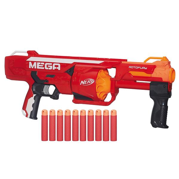 Pistolet à fléchettes Nerf Mega Elite RotoFury